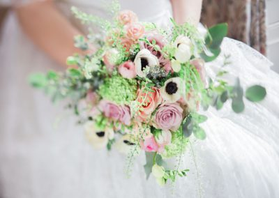 Boho Bridal Bouquet 2 Jenny Owens Photography