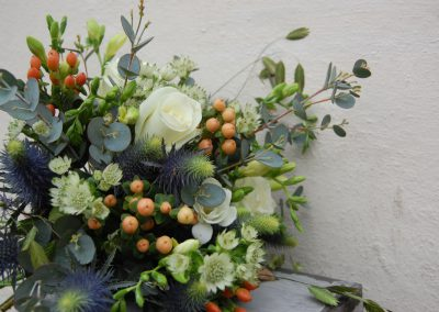 Christmas Berry Hand-tied Bouquet