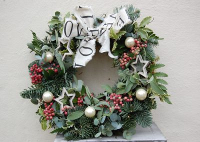 Christmas Peppercorn Wreath