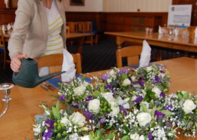 Ivory Purple Wedding Reception (2)