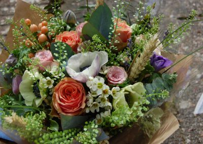 Seasonal Spring Country Style Bouquet