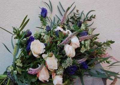 Seasonal Winter Anemone Hand-tied Bouquet