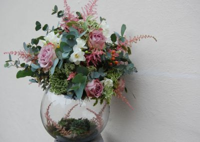 Woodland Rustic Bowl Table Centre