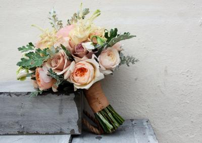 Vintage Gold Scented Bridal Bouquet