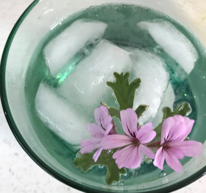 My Favourite Floral Gin Garnishes